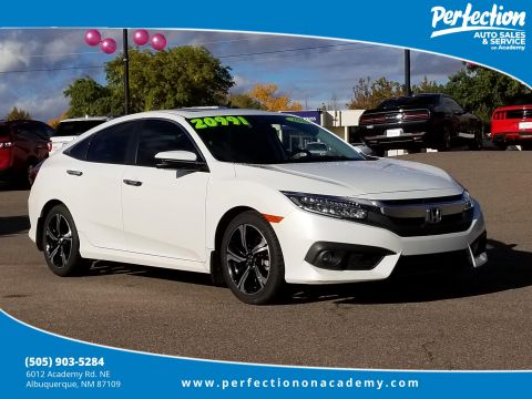 Pre-Owned 2016 Honda Civic Sedan Touring With Navigation