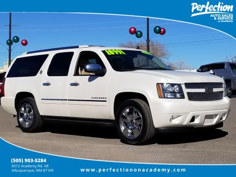 Pre-Owned 2010 Chevrolet Suburban LTZ With Navigation
