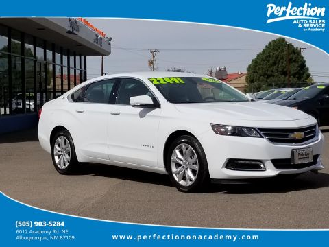 Pre-Owned 2018 Chevrolet Impala LT FWD 4dr Car