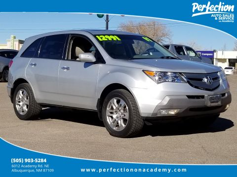 Pre-Owned 2007 Acura MDX Tech Pkg With Navigation & AWD