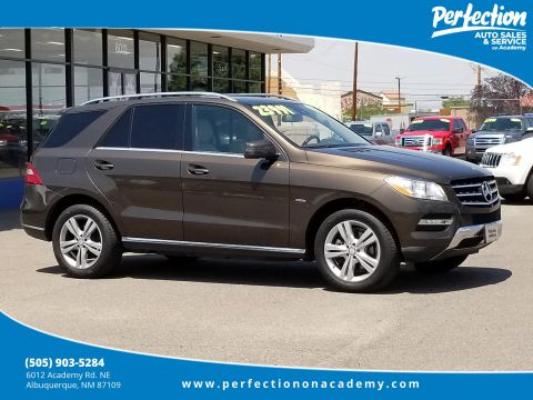 Pre-Owned 2012 Mercedes-Benz M-Class ML 350 AWD