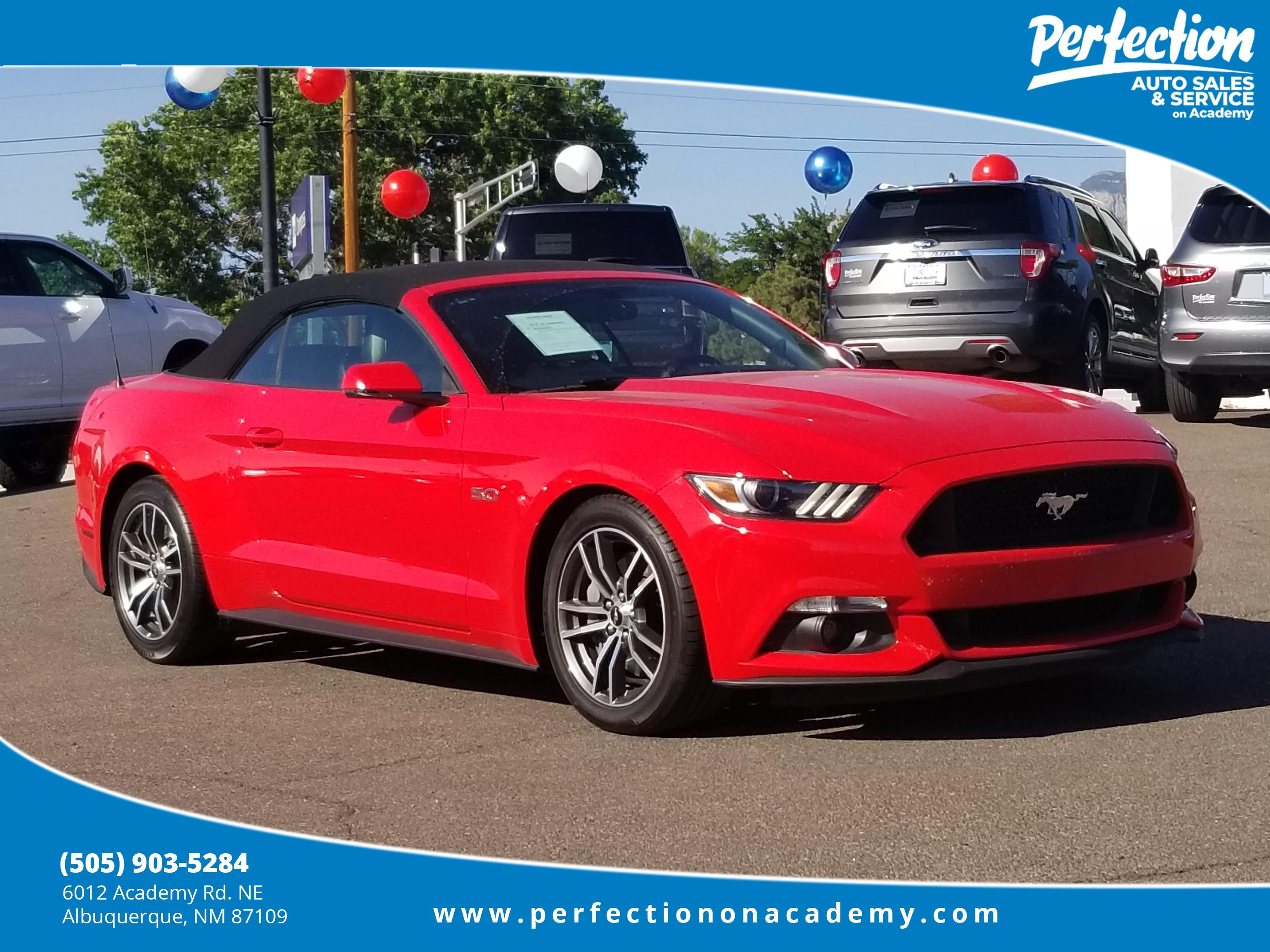 Pre Owned 2017 Ford Mustang GT Premium Convertible in Albuquerque
