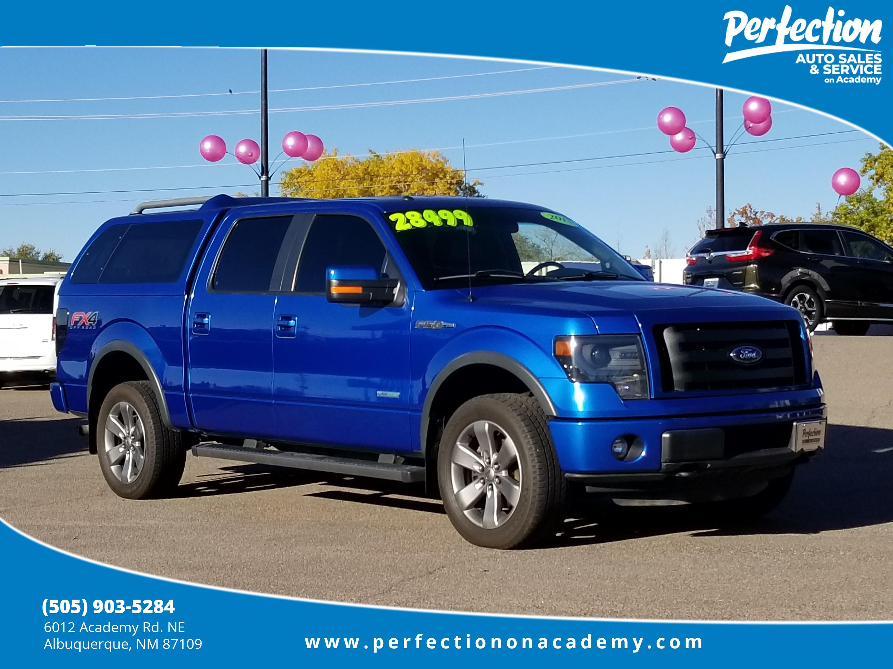 Pre owned 2013 ford f 150 fx4