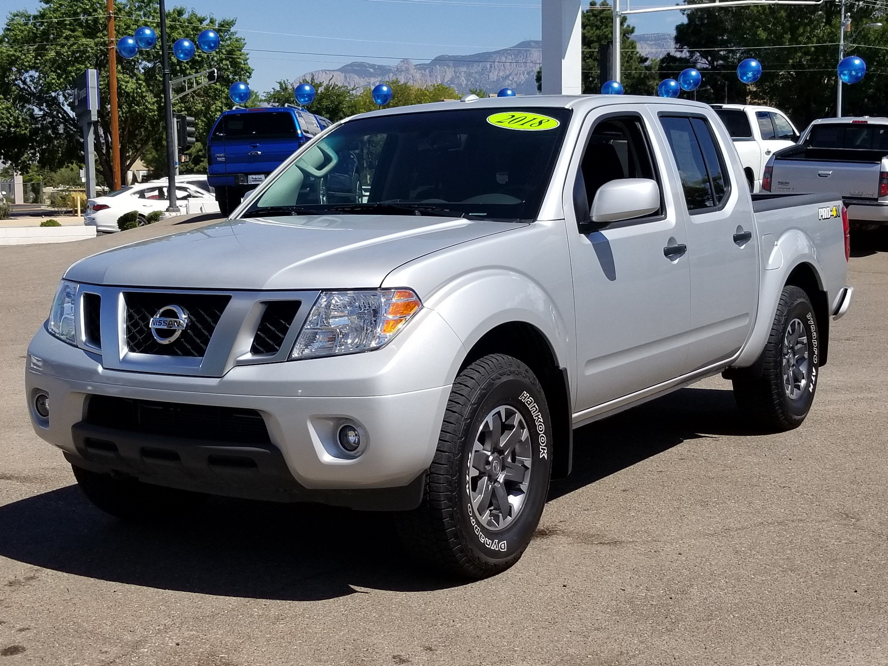 Pre-Owned 2018 Nissan Frontier PRO-4X Crew Cab Pickup in Albuquerque  #AP0694 | Perfection on Academy